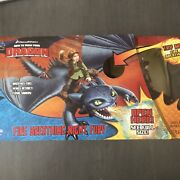 How To Train Your Dragon Fire Breathing Night Fury Figure Set Dreamworks