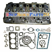 New 1g065-03044 Complete Cylinder Head And Gasket For Kubota D1105 Rtv1100c