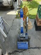 Floor Sander Ez-8 Drum Missing The Cover Of The Belt Side Working Perfect