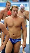 Us National Team Usa Mens Water Polo Suit Rio Olympics Speedo Brief Swimsuit