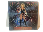 Lita Ford Out For Blood Sexy Signed Autograph Lp Album Beckett Certified