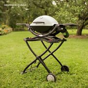 Portable Gas Grill Propane Bbq Top Burner Outdoor Stainless Steel By Weber Q1200