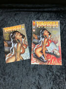 Vampirella Strikes 6 Full Size Comic And Ash Can Preview