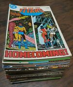Huge Lot Of 56 The New Teen Titans Vol. 2 1984 18-92 And Annual 2 4 List Below Dc