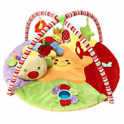 Baby Musical Play Mat Free Tummy Time Caterpillar Soft Toy Premium Baby Play Mat