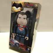 Medicom Toy Be@rbrick Super Rear Batman Vs Superman 400 Bearbrick
