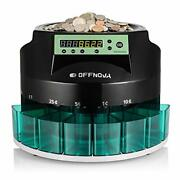 Offnova Hardaway Electric Automatic Coin Sorter And Counter Machine Large Led Dig