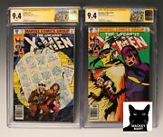 X-men 141 And 142 Cgc 9.4 Marvel 1981 Signed By Chris Claremont