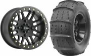 Mounted Wheel And Tire Kit Wheel 15x10 5+5 4/136 Tire 32x12-15 2 Ply