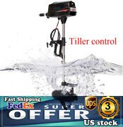 Hangkai 2200w With Propel Electric Outboard Motor Fishing Boat Trolling Engine