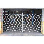Grainger Approved Peco 1875 Folding Gategray16 To 18 Ft. Opening W