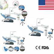 1-3complete Kit Dental Unit Chair Computer Controlled W/ Chair Stools Ceandfda