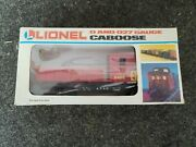 Lionel Work Caboose A.t.s.f. O Gauge New Illuminated 6-6496