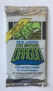 Savage Dragon Unopened Pack Of Trading Cards Comic Images 1992