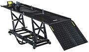 Jegs 87004 Motorcycle Lift 1000 Lb. Capacity 29 1/2 In. Max Lift Height 86 1/2 I