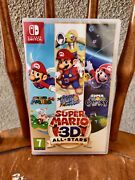 Super Mario 3d All Stars - Nintendo Switch Sealed Copy Game Discontinued