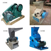 Various 220v 100x60/200x70/300x180 Stone Glass Coal Hammer Crusher And Jaw Crusher