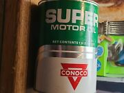Conoco Oil Can Collectionand039s. 《23》cans Available. 5 Cans Have Some Minor Rust.
