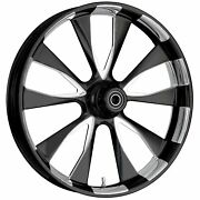 Fat Tire 21 X 5.5 Diode Starkline Polished Wheel Package - 00-19 Harley Touring