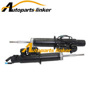 Pair Front R+l Air Suspension Shock Absorber W/ads For Bmw E70/x5 37116788761