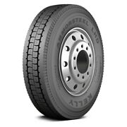 Kelly Set Of 4 Tires 295/75r22.5 L Armorsteel Lhd All Season / Fuel Efficient