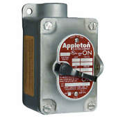 Appleton Electric Eds175-f1 Tumbler Switch,eds Series,1 Gang,1-pole