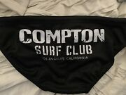 Compton Surf Club Water Polo Suit Swimsuit Brief Speedo Swimming Los Angeles Ca