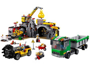 Lego 4204 Set The Mine Incomplete, All Minifigs