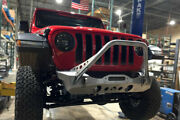 For Nighthawk Jeep Jl Front Bumper W/mid Tube Stinger Bare Artec Industries