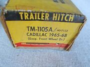 65 66 67 68 Cadillac Deville Trailer Hitch New Ideal Vtg Usa Made Chrome Rwd
