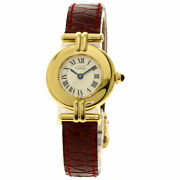 Must Collize Vermeil 150th Anniversary Model Watches Gold Plated/le...