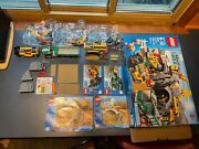 Pre Owned Lego City The Mine 4204. Bags 5,6,7 Not Opened. Box, Manual.