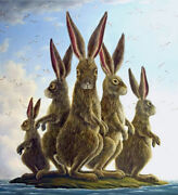 The Exiles Sn Limited Edition Giclee On Canvas By Robert Bissell