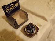 Nors Vintage Universal Compass Made In Japan 70s 80s To Fit Honda Datsun Toyota