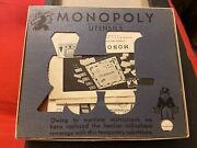 Extremely Rare World War Ii Monopoly Game Complete Super High Grade