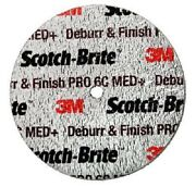 3m Deburr And Finish Pro Unitized Wheel 2 In X 3/4 In X 1/4 In 6c Med-20ea