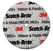 3m Deburr And Finish Pro Unitized Wheel 2 In X 1/4 In X 1/4 In 6c Med -20ea