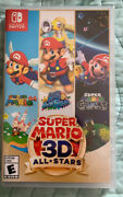 Super Mario 3d All-stars - Nintendo Switch Discontinued- Limited Edition