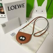 Loewe My Neighbor Totoro Collaboration Dust Bunny Heel Pouch From Japan F/s