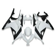 Ms White Black Fairing Injection Mold Fit For Kawasaki 2013-2017 Ex300 300r X002