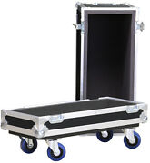 Ata Safe Case Vox Ac15hw1x 15w 1x12 Road Case No Top Handle With Locking Casters
