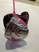 New Ping G20 Bubba Watson Pink Driver 2012 Right Limited Edition 10.5 Regular