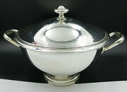 Wonderful Classic French Christofle Silver Plate Large Soup Tureen Mint