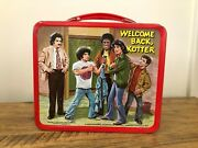 Vintage Metal Lunch Box 1977 Welcome Back, Kotter With Thermos