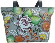 Anna By Anuschka Large Womenand039s Tote Handbag Fits 13 Laptop Great For Travel