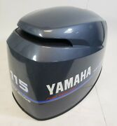 68v-42610-12-00 Yamaha 2002 And Up Top Engine Cover Cowl Hood 115 Hp 4-stroke New