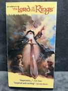 The Lord Of The Rings Vhs 1993 Ralph Bakshi Animated Rareandnbsp
