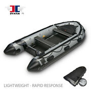 380-pt-l 12and0396 Inmar Patrol Inflatable Boat - Dive / Fish / Scuba / Rescue