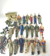 Gi Joe 12 Inch Action Figures Weapons And Accessories Huge Lot Vintage 90s