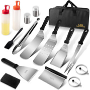 Outdoor Griddle Accessories Kit For Blackstone 16 Pieces Flat Top Grill